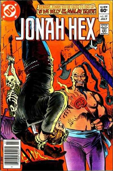 Jonah Hex (1977) 62-A by DC