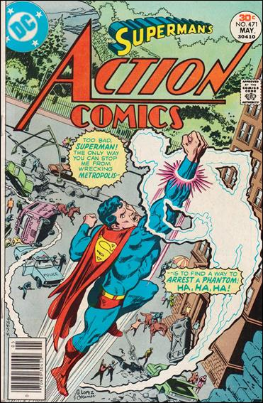 Action Comics (1938) 471-A by DC
