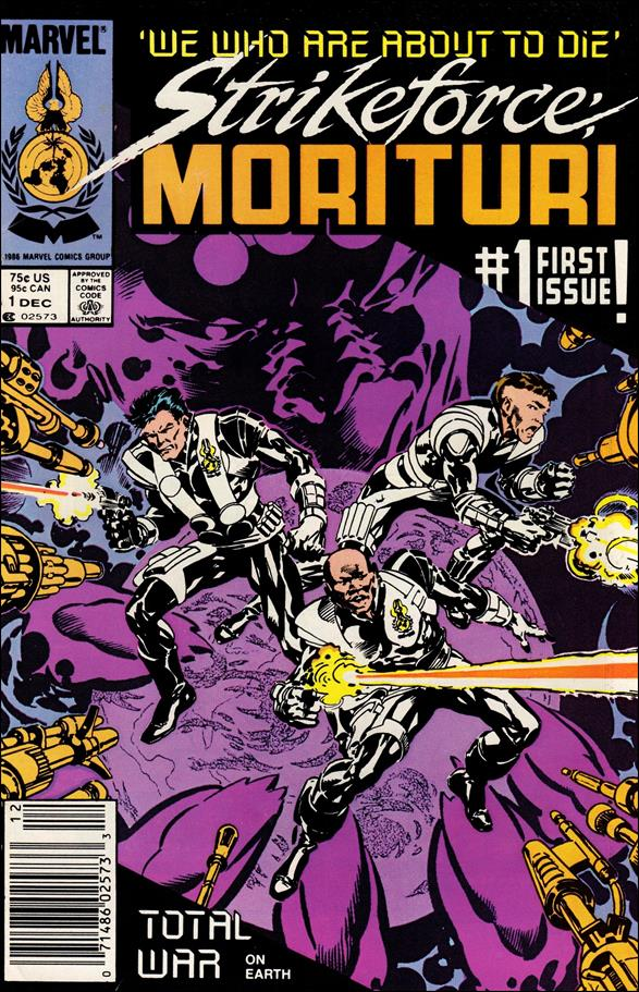 Strikeforce: Morituri 1-A by Marvel