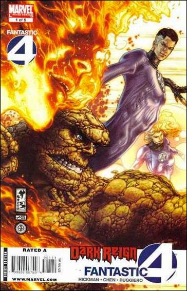 Dark Reign: Fantastic Four 1-A by Marvel