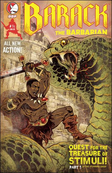 Barack the Barbarian: Quest for the Treasure of Stimuli  1-C by Devil's Due