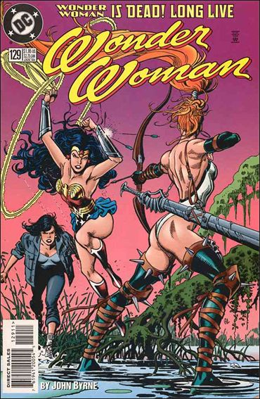 Wonder Woman (1987) 129-A by DC