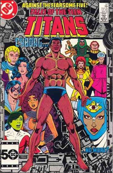 Tales of the Teen Titans 57-A by DC