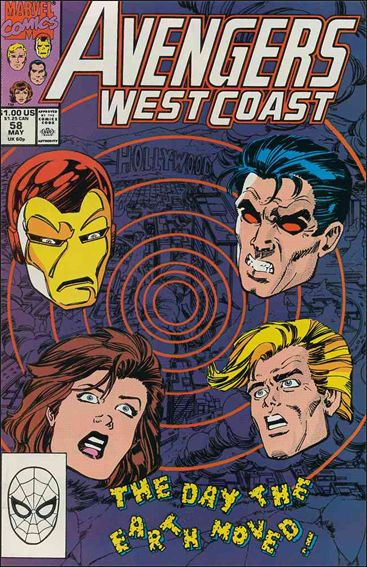 Avengers West Coast 58-A by Marvel