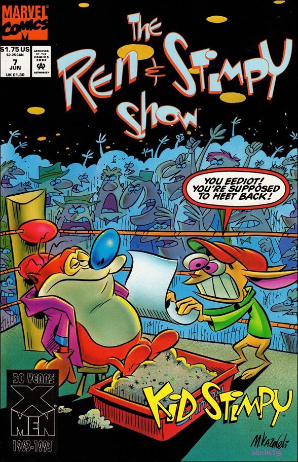 Ren & Stimpy Show 7-A by Marvel