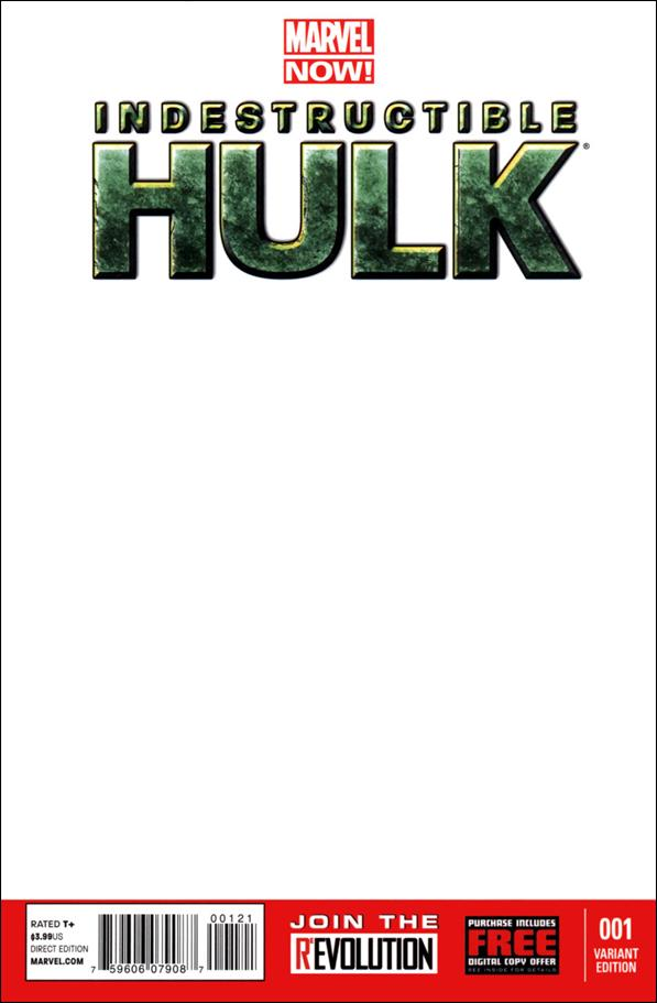 Indestructible Hulk 1-H by Marvel