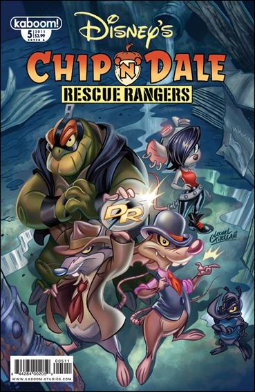Chip 'n' Dale Rescue Rangers (2010) 5-A by Kaboom!