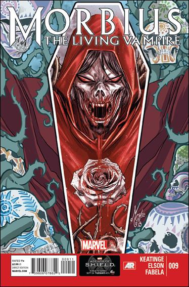 Morbius: The Living Vampire (2013) 9-A by Marvel