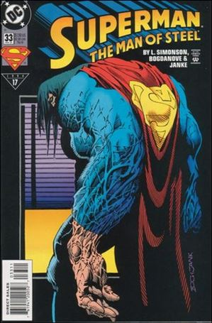 Superman: The Man of Steel 33-A