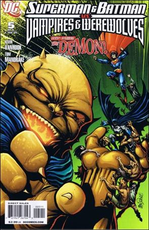 Superman and Batman vs Vampires and Werewolves 5-A
