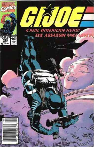 G.I. Joe: A Real American Hero 104-A by IDW