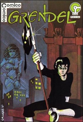 Grendel (1983) 1-A by Comico
