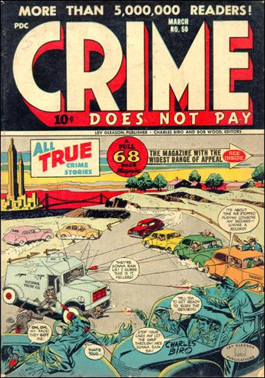 Crime Does Not Pay 50-A by Lev Gleason Productions