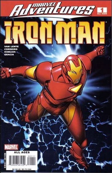 Marvel Adventures Iron Man 1-A by Marvel