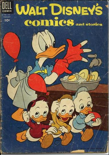 Walt Disney's Comics and Stories (1940) 173-A by Dell