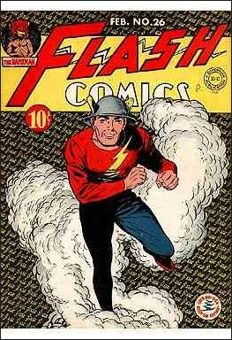 Flash Comics (1939) 26-A by DC