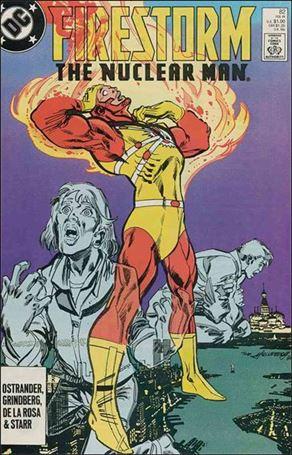 Firestorm The Nuclear Man (1987) 82-A