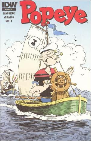 Popeye (2012) 2-B by IDW