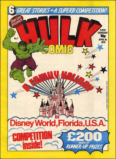 Hulk Comic (UK) 7-A by Marvel UK