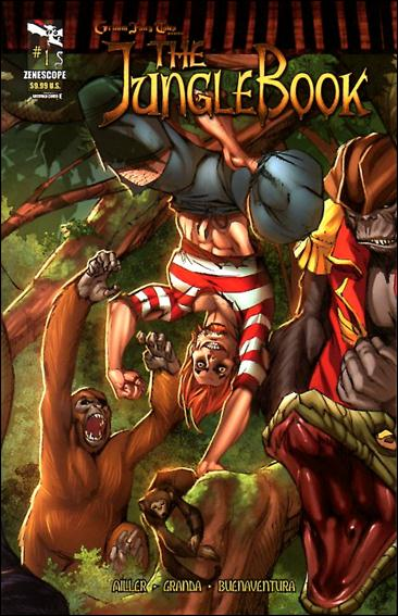 Grimm Fairy Tales Presents The Jungle Book 1-E by Zenescope Entertainment