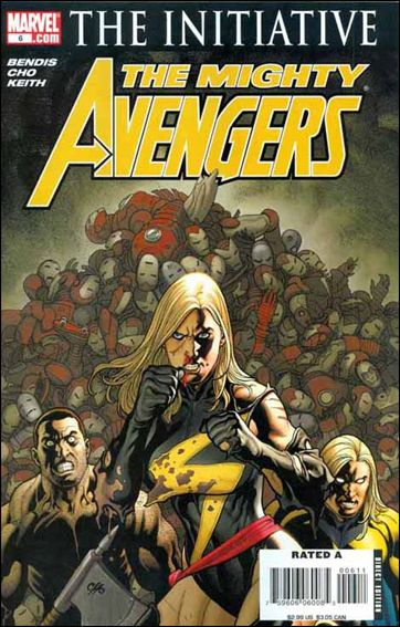 Mighty Avengers 6-A by Marvel