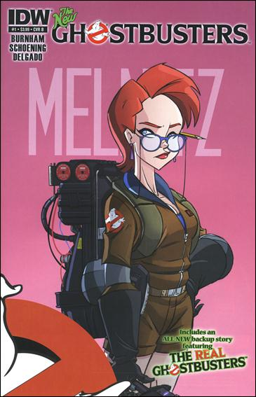 Ghostbusters (2013) 1-B by IDW