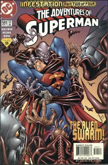 Adventures of Superman (1987) 591-A by DC