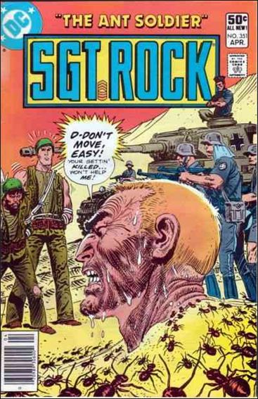 Sgt. Rock (1977) 351-A by DC