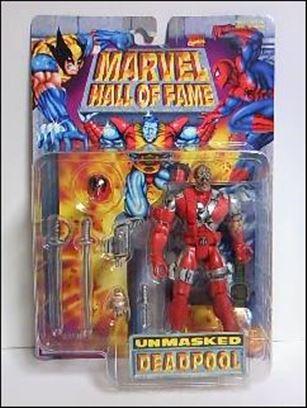 Marvel Hall of Fame (Series 5) Deadpool (Unmasked)