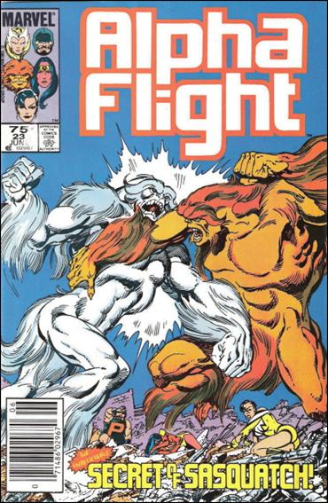 Alpha Flight (1983) 23-B by Marvel