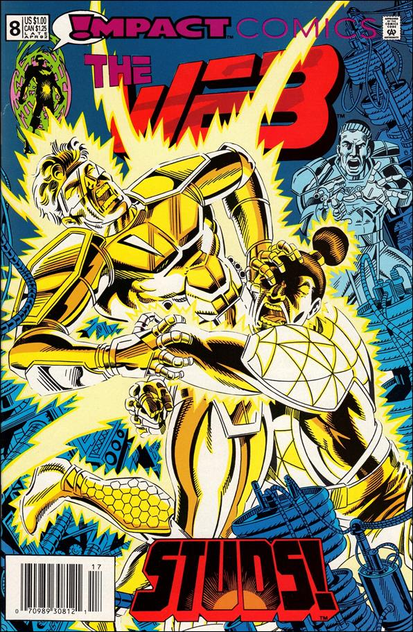 Web (1991) 8-A by Impact Comics