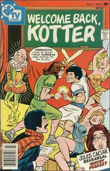Welcome Back, Kotter 5-A by DC