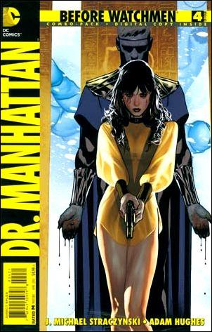 Before Watchmen: Dr. Manhattan 4-B by DC