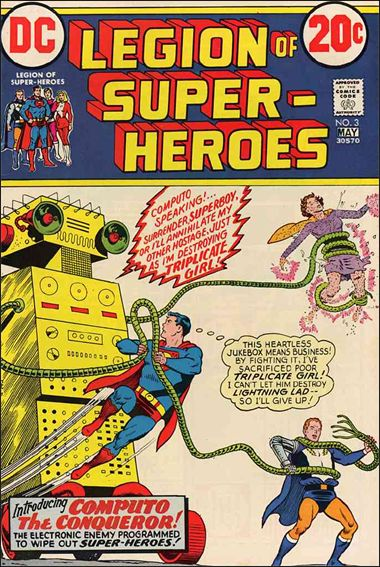 Legion of Super-Heroes (1973) 3-A by DC