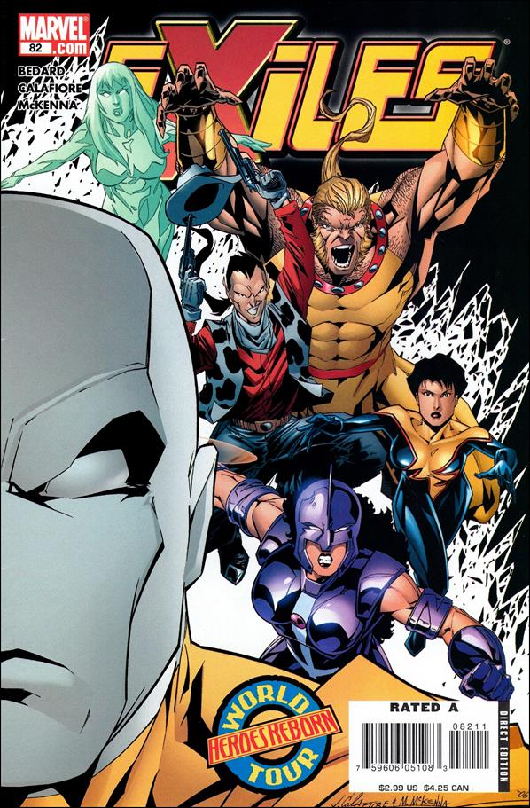 Exiles (2001) 82-A by Marvel