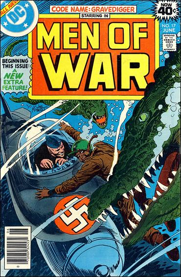 Men of War (1977) 17-A by DC