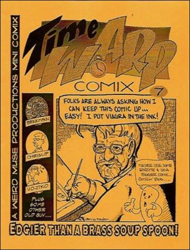 Time Warp Comix  7-A by Weird Muse Productions
