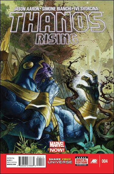 Thanos Rising 4-A by Marvel