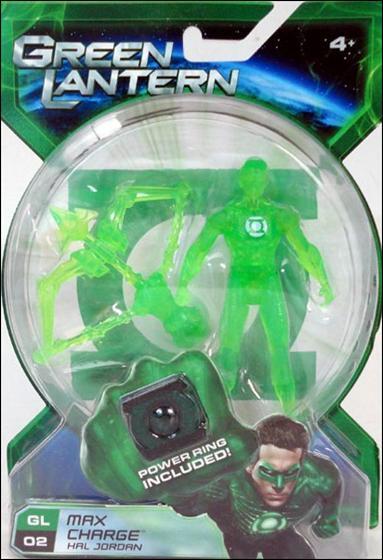 Green Lantern (Movie) Max Charge Hal Jordan by Mattel