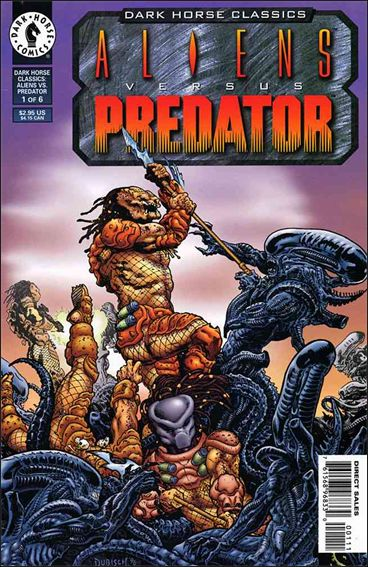 Dark Horse Classics: Aliens Versus Predator 1-A by Dark Horse