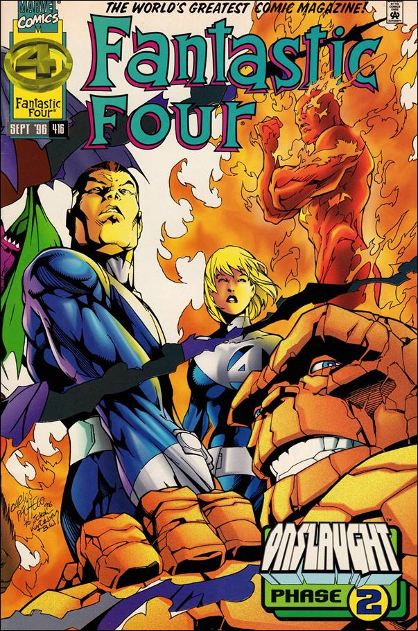 Fantastic Four (1961) 416-A by Marvel