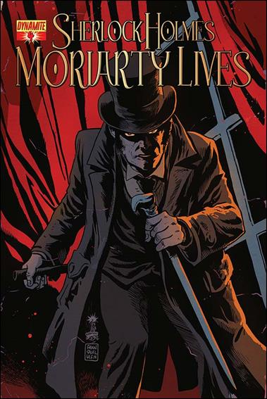 Sherlock Holmes: Moriarty Lives 4-A by Dynamite Entertainment