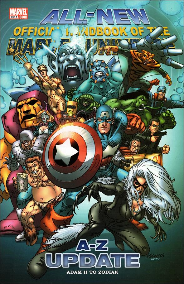 All-New Official Handbook of the Marvel Universe A to Z: Update 2-A by Marvel