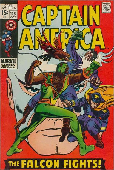 Captain America (1968) 118-A by Marvel