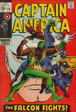 Captain America (1968) 118-A