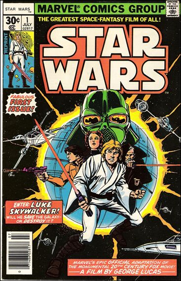 Star Wars (1977) 1-C by Marvel