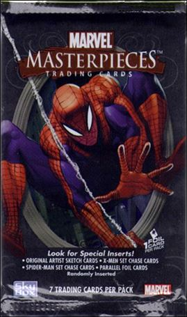 2007 Marvel Masterpieces 2-A