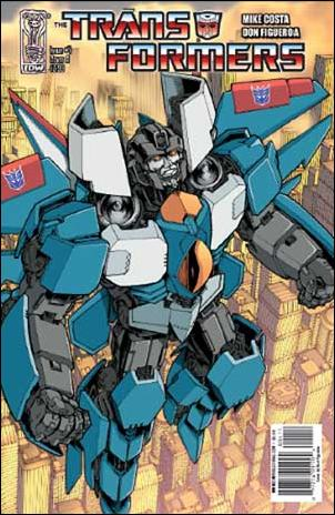 Transformers (2009) 4-A by IDW