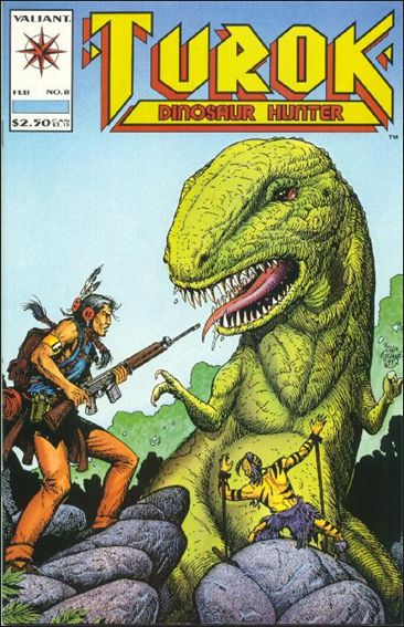 Turok: Dinosaur Hunter (1993) 8-A by Valiant