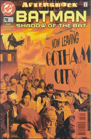 Batman: Shadow of the Bat 78-A by DC